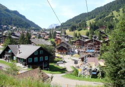 Morgins in Summer